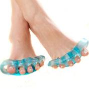 759SHOP 1 Pair Foot Stretcher Straightener Toe Separators Pain Relief