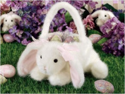 Kids Easter Egg Baskets by Bearington Collection BUNNY