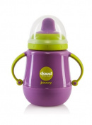 Joovy Dood Sippy Cup Plus Insulator, Purpleness, 270ml