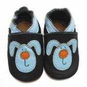 Sayoyo Baby Rabbit Soft Sole Leather Infant Toddler Prewalker Shoes