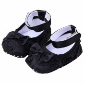 EUBUY Girl Baby Rose Style Newborn Infant Toddler Soft Floral Shoes Cack