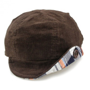 Baby Winter Hat Children Newsboy Corduroy Cap
