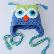 Newborn Hat Handmade Baby Girls Boys Crochet Knit Beanie Wool Cap