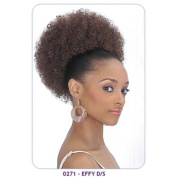 New Born Free Synthetic Drawstring Ponytail Large Size Afro Puff