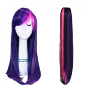 L-email Mixed Purple/pink My Little Pony Friendship Is Magic Set Ponytail Pj28+twilight Sparkle Wig Cb28