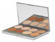 Graftobian HD Pro Powder Foundation Palette, Warm