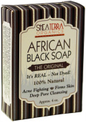 Authentic African Black Soap 130ml