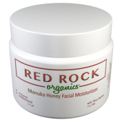 All Natural Anti-Ageing Facial Moisturiser for Sensitive Skin - Best Organic Ingredients and Minerals - Manuka Honey and Hyaluronic Acid - Anti Wrinkle Face and Neck Cream - for Men and Women - all Skin Types, Oily, Dry and Sensitive Skin - Fragrance F ..