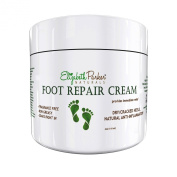 Foot Cream for Dry Cracked Heels and Feet - Anti Fungal for Athletes Foot - Best Foot Care Cream for Men and Women - Fragrance Free and Non Greasy