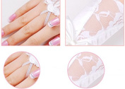 Bride Wedding Party Dress Rhinestone Fingerless Lace Satin Bridal Gloves