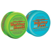 O'Keeffe's Working Hands 100ml (Hand Cream) - Healthy Feet 90ml (Foot Cream), Combo Pack