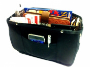 Expandable Handbag Purse Tote Travel Cosmetic Make-Up Bag Organiser Insert Dimensions