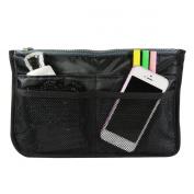 Allydrew Unisex Bag Insert Organiser, Travel Bag Organiser - Black