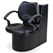 """Mae"" Black Dryer Chair"