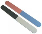 Jaylie TM 4-Way 18cm Premium All Purpose Nail File and Buffers 12 Pack