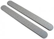 Premium Zebra 180/180 (Blk Ctr) Washable Nail File 12 Pack