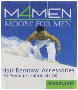 Moom For Men Fabric Strips - 48 Strips