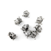 130 Pieces Antique Silver Jewellery Making Charms Vintage Jewellery Supply Crafting Bracelet YQX00 Fat Lady Loose Beads