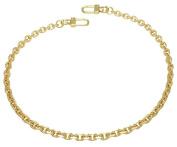 k-craft BG11 50cm Purse Metal Chain Strap Replacement Gold Crossbody Shoulder Strap Handbag