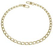 k-craft BG19 50cm Purse Metal Chain Strap Replacement Gold Crossbody Shoulder Strap Handbag