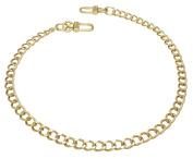 k-craft BG13 50cm Purse Metal Chain Strap Replacement Gold Crossbody Shoulder Strap Handbag