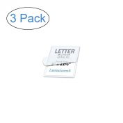 3 Mil Clear Letter Size Thermal Laminating Pouches (Pack of 3) - 9 X 11.5 - Qty 100 Per Box - Hot Glossy Thermal Lamination Sheet Laminator Pockets - 9x11.5 - (3 Pack) - 300 Sheets In Total
