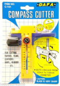 Compass Cutter Circle Cutter Cuts Perfect Circles for Paper Vinyl Rubber Leather