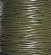 Genuine Leather * High Quality * 2mm - Round - Many Colours - Available in 25 Yards & 50 Yards - Hank Packing (25 Yards - Hank, 37
