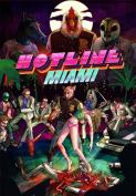 60cm x 90cm Hotline Miami Silk Poster AGS4-D6C