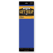 TISSUE PAPER ROYAL BLUE 10 SHEETS #34029, CASE OF 144