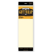 TISSUE PAPER IVORY 10 SHEETS #34026, CASE OF 144