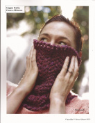 Cappa Italia - Lace Cowl Knitting Pattern - Grace Akhrem