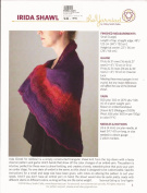 Irida Shawl - The Yarnidad Knitting Pattern by Hillary Smith Callis
