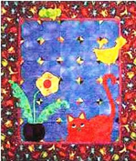 Pattern - Just Playin' - Pieced Quilt - 100cm x 110cm