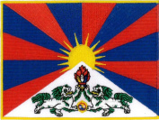 Tibet (Embroidered) Patch 12cm x 9cm