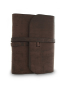 Everest Explorer Journal with Handmade Lokta Paper and Water Buffalo Leather. Made in Nepal.