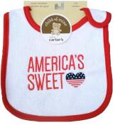 Patriotic Baby Bib-America's Sweet Heart