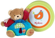 Kaloo Colours Chubby Bear Soft Toy (Small, Mushroom) by Kaloo