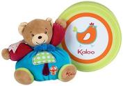 Kaloo Colours Chubby Bear Soft Toy (Small, Mushroom) by Kaloo