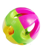Baby Hand Shaker Toy Bell Jingle Ring Rattle Ball Musical Instrument Kids Gift