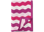 First Impressions Baby Girls Chevron Blanket