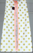 Coral & Gold Dots Nappy Stacker