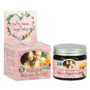 Earth Mama Angel Baby Natural Nipple Butter, 60ml Jar