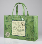 Care For God's Earth, Reusable Shopping Tote Bag