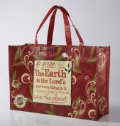The Earth Is The Lord's, Reusable Shopping Tote Bag