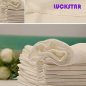 LUCKSTAR(TM) 5PCs Bamboo Fibre Breathable Waterproof Underpads Mattress Pad Baby Cloth Nappy for Baby & Children