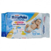 Mamy Poko Baby's Bottom Cleaning Tissue 80 Sheets. Product of Thailand