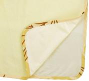 Multi-Use Pad Waterproof Bamboo Viscose Terry Cloth,Light Yellow