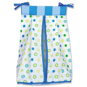 Trend Lab Dr. Seuss Oh! The Places You'Ll Go! Nappy Stacker - Blue, Keep your nappies organised