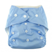 Sannysis Baby Kid Cotton Permeability Adjusted Prevent Side Leakage Nappies Pants